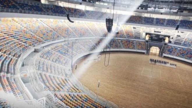 Cairo Sports Hall, principal pabellón del Mundial /
