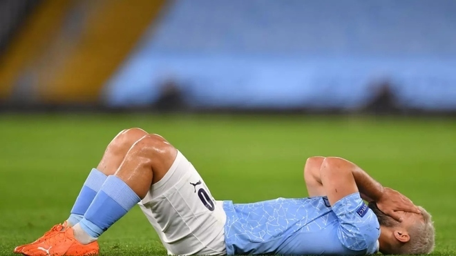 Aguero cannot catch a break: After overcoming injury, he's forced to self-isolate
