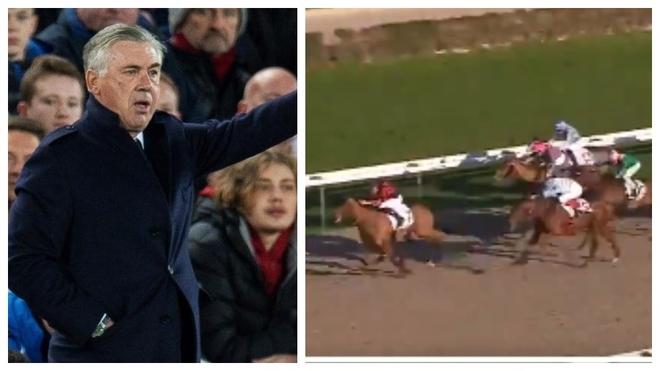 Double sporting success for Ancelotti on Saturday