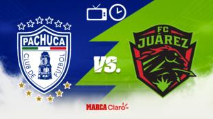 Pachuca vs FC Juárez: horario y dónde ver por TV el juego
