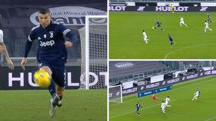 Cristiano Ronaldo en estado puro: pincha un melón... y todos sabíamos que acababa en gol
