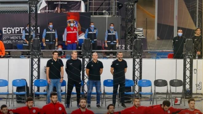 El cuerpo técnico de Egipto /