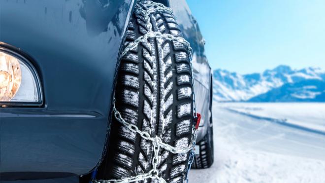 Como poner las cadenas para la nieve al coche