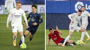 El extraño caso de Valverde y Odegaard