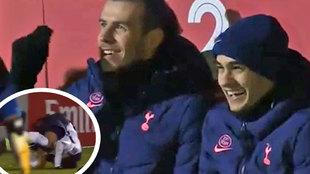 La cómica caída de Dele Alli que hizo reír a carcajadas a Reguilón y Bale: ¡pidieron hasta amarilla!