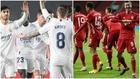 Montaje con la imagen del Real Madrid y el Bayern