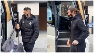 Se acabó la espera del Madrid: rumbo a Málaga desde Pamplona