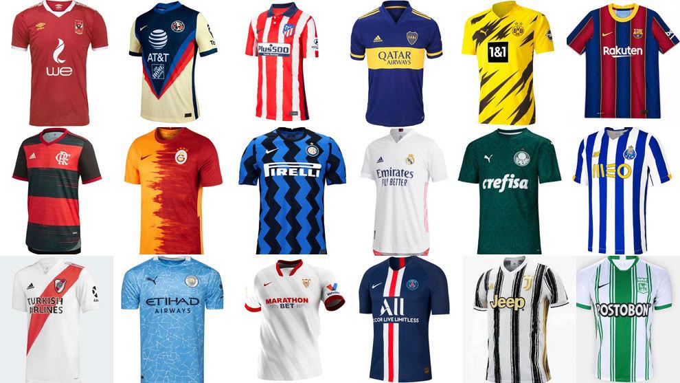 Elegidas las camisetas más bonitas del fútbol: así está el ránking