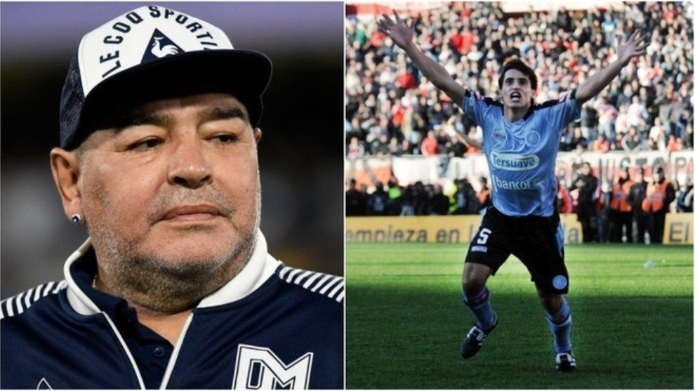 This is what Maradona did on the day of River Plate's relegation