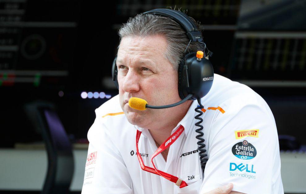 Zak Brown mira a la Fórmula E con buenos ojos.