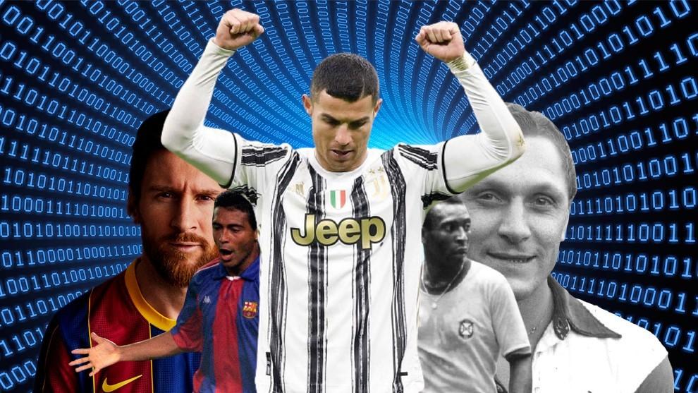 ¿Es Cristiano Ronaldo el mayor goleador de la historia? Desciframos todos los números
