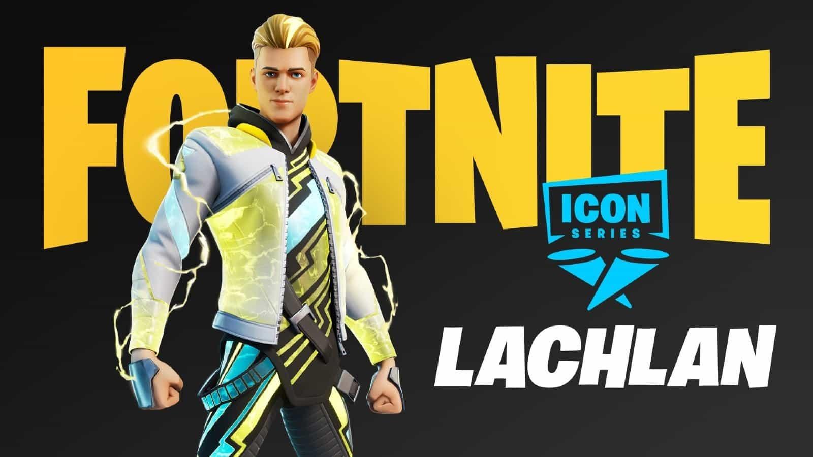 Skin Lachlan Fortnite Icon Series