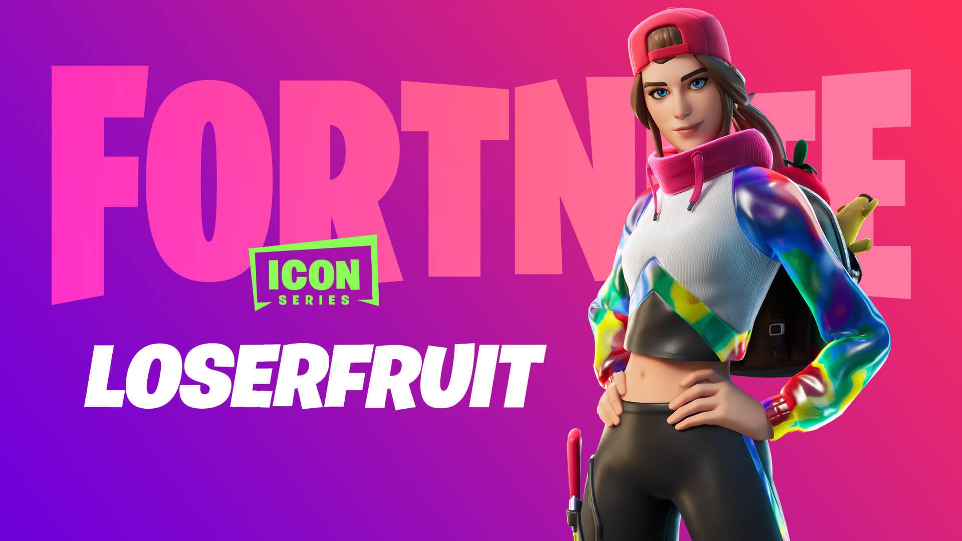 Skin Loser Fruit Fortnite Icon Series