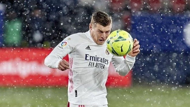 Toni Kroos in Pamplona