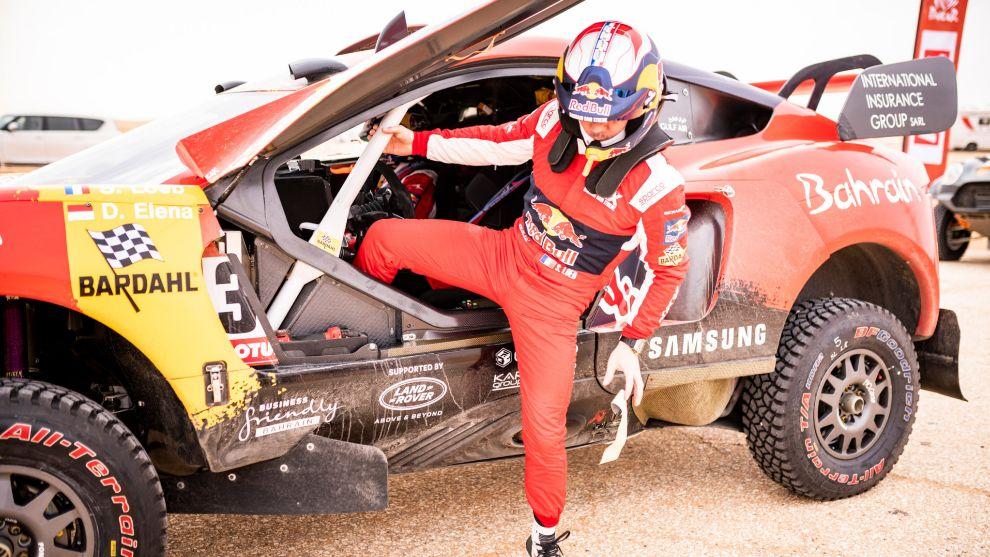 Loeb se ha tenido que bajar antes de tiempo del Dakar 2021.