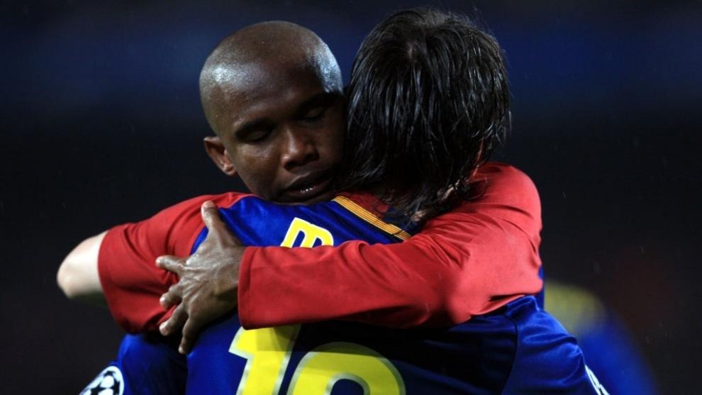 Samuel Eto'o picks Lionel Messi's heir at Barcelona