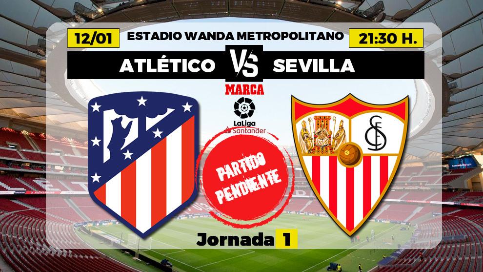 Atlético-Sevilla: Un partidazo tras Filomena