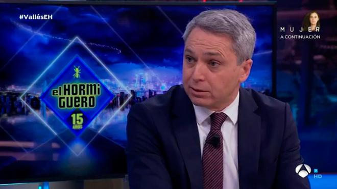 Vicente Valles habla con Pablo Motos - El Hormiguero - Antena 3