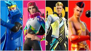 Todas las skins de Fortnite Icon Series