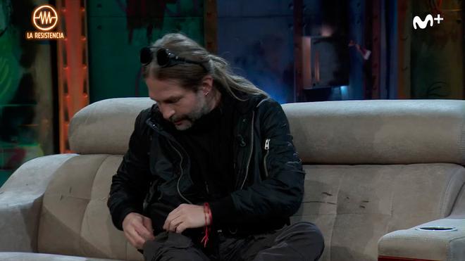 """La petición más grupie de David Broncano a Sergio Vallín: """"¿Es posible que me des pelo tuyo?"""""""