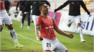 Víctor Velázquez anotó el 1-0 para FC Juárez.