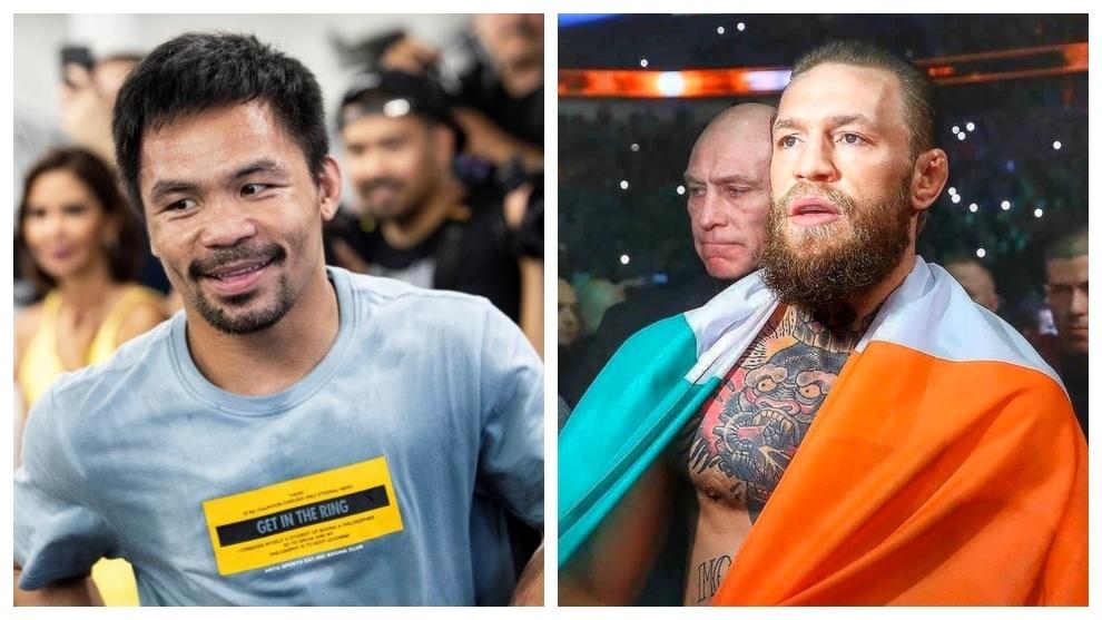 Manny Pacquiao y Conor McGregor.