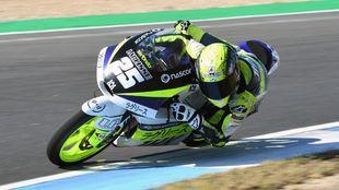 Adrián Fernández, en el FIM CEV de Moto3.