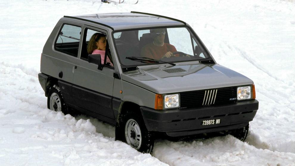 El primer Fiat Panda 4x4 (1983-1986) era perfecto para la nieve.