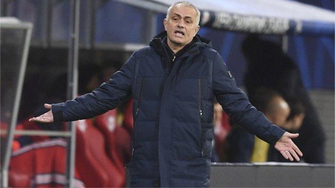Mourinho, entrenador del Tottenham.