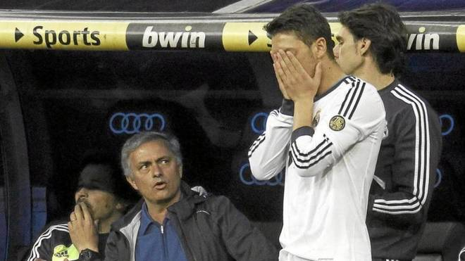 Mourinho and Ozil were together at Real Madrid