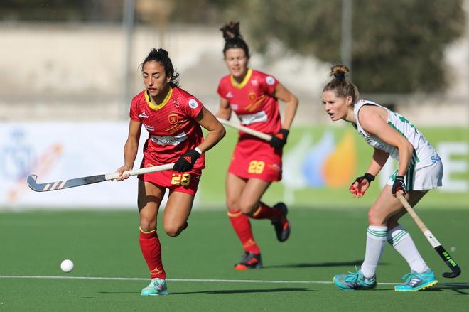 Concentración de las 'Redsticks' en Murcia para preparar los Juegos