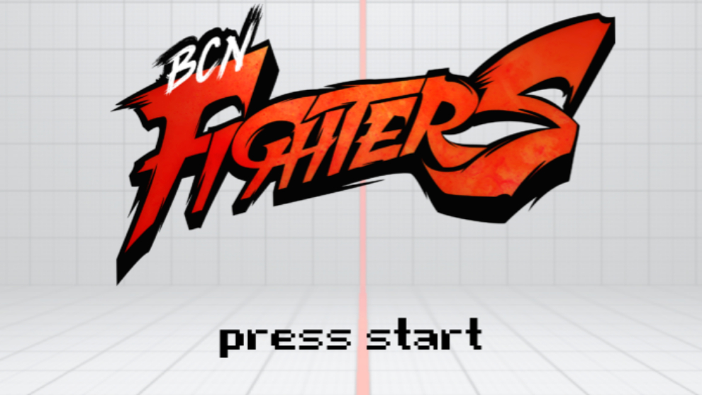 El logo de Barcelona Fighters