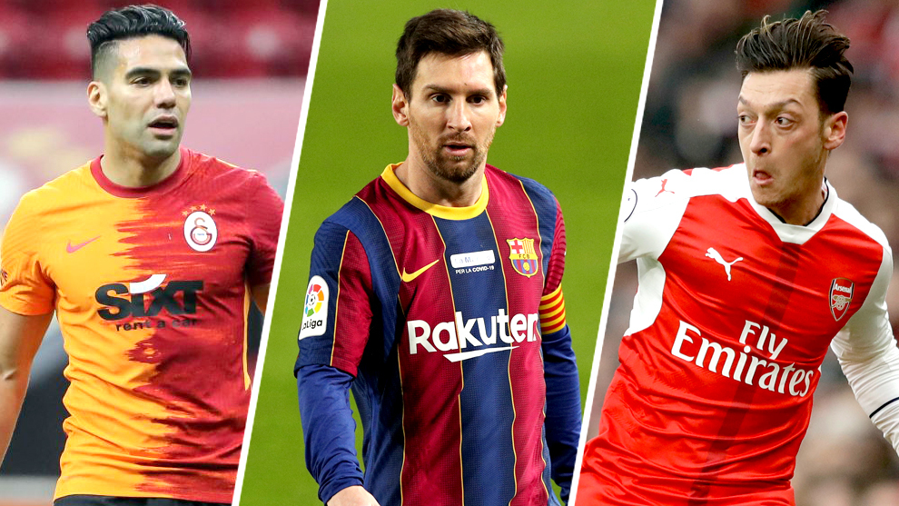 Messi, Ronaldo, Ozil and the other top players hoping to move to MLS