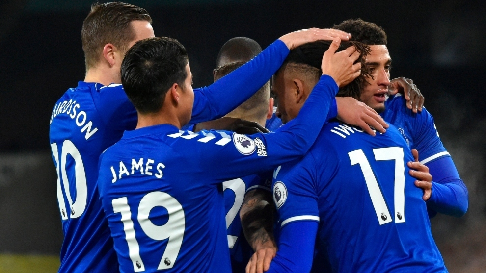 James helps Everton to a win at Wolves