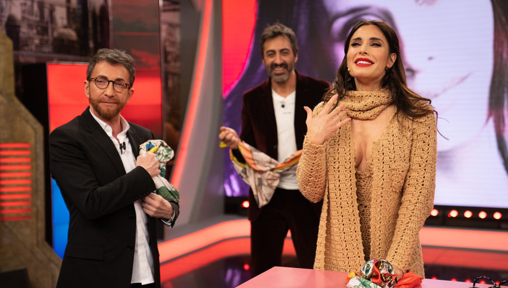 """Pilar Rubio sorprende a Pablo Motos en El Hormiguero con """"el look más..."""