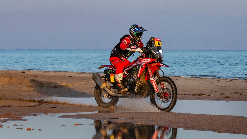 Nacho Cornejo ha cedido hoy el liderato del Dakar.