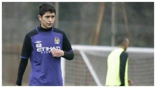 Gabriel Fernando Almeida while with Manchester City.