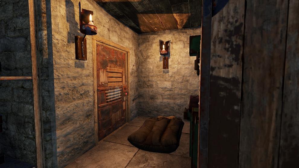 Con estos 7 muebles ya podremos iniciar nuestra aventura en Rust con...