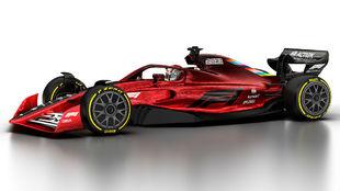 Así debía ser el nuevo F1 de 2021 con las reglas que finalmente se...