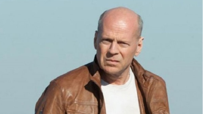 Bruce Willis, en las calles de California.