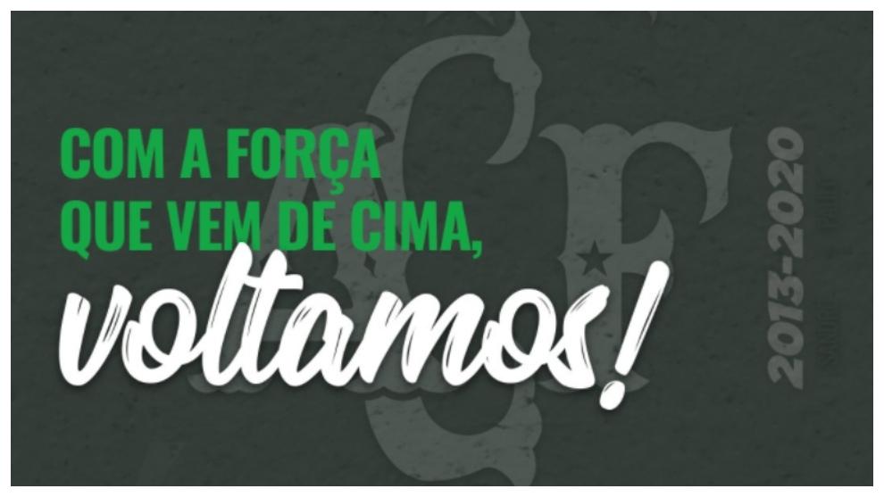 El Chapecoense celebra su regreso al Brasileirao.