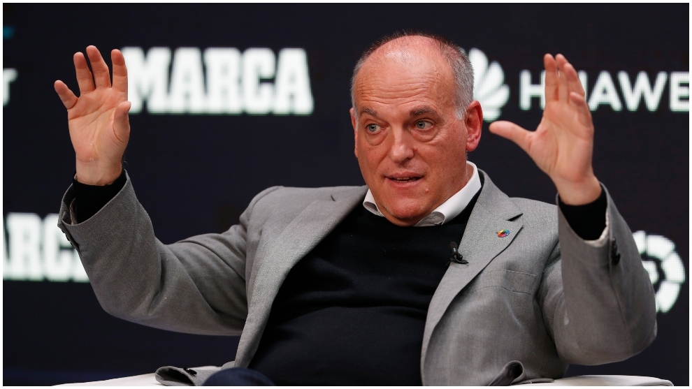 Tebas responds to Zidane's complaints: They are a coach's excuses