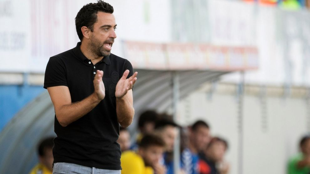 Xavi: Everything ends with him coaching Barcelona