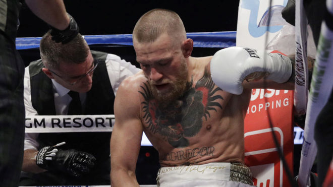 Conor McGregor could compete for a world boxing title