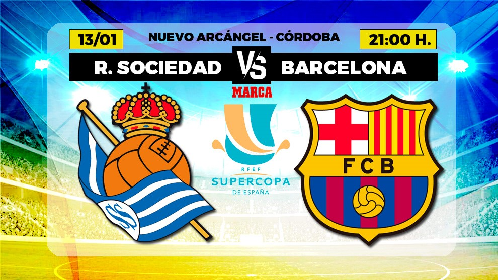 Real Sociedad vs Barcelona: When and where to watch the Supercopa semi-final in the USA