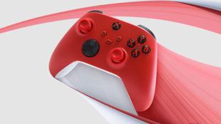 nuevo control xbox rojo