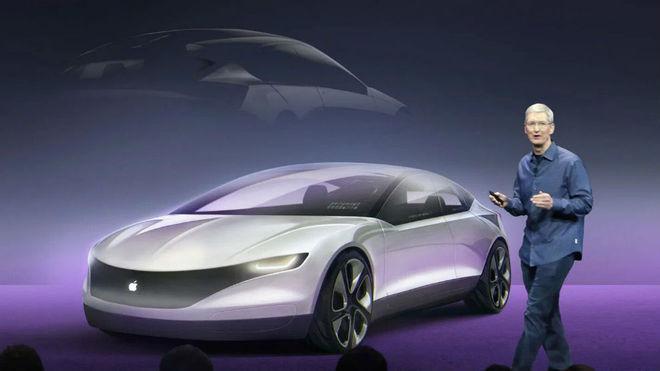 Tim Cook presenta Project Titan, el proyecto de conducción autónoma de Apple.
