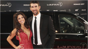 Nicole and Michael Phelps