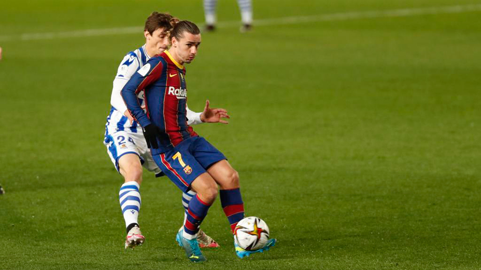 Griezmann and Normand.