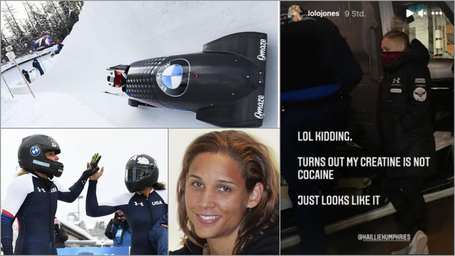 Detienen a Lolo Jones y a su compañera de bobsleigh al creer que llevaban cocaína